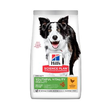 Hills Science Diet Youthful Vitality Mature 7+ Canine Medium Breed