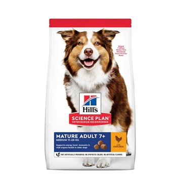 Hills Science Plan Canine Active Longevity Mature Adult 7+ Medium - Chicken
